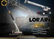 Refacciones para grúas industriales Lorain