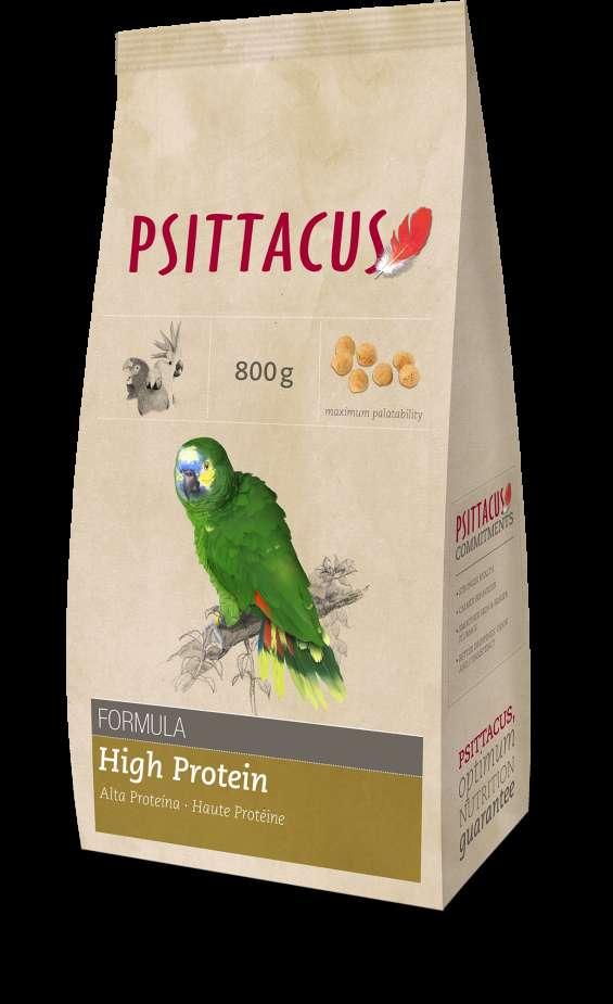 Croqueta alta proteina de 800 g. para loros
