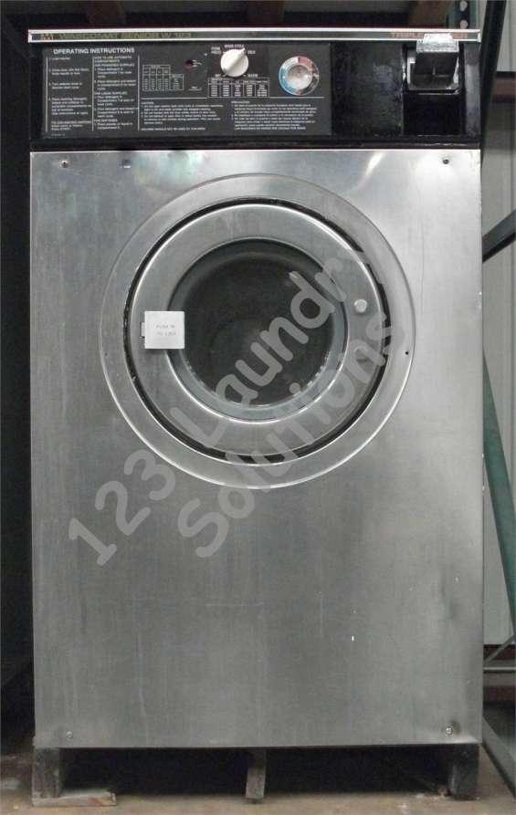 Lavadora de carga frontal wascomat senior w123 usada