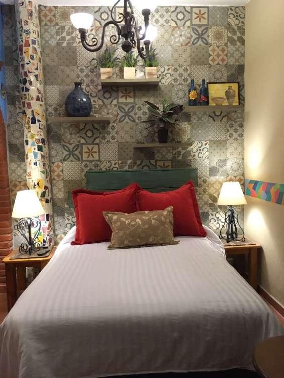 Suite en renta para estancias semanales en barranca del muerto