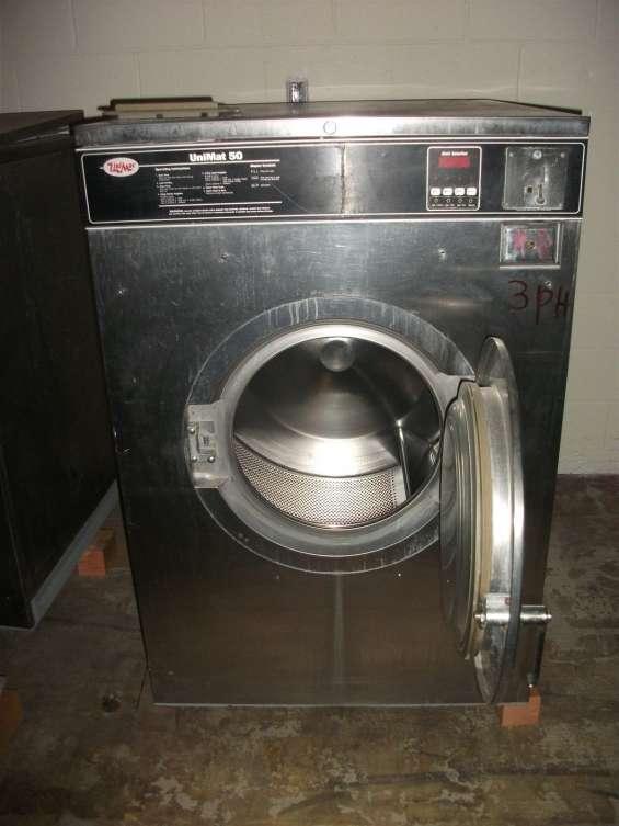 Unimac unimat uni-mac 50lb lavadora / extractor usada