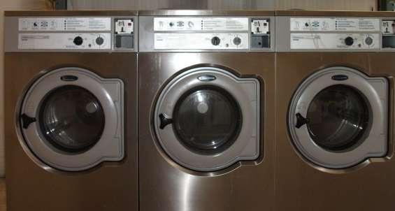 Wascomat lavadora de carga frontal w630 washer 3ph usada