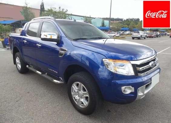 Ford ranger xlt 4x4 2014