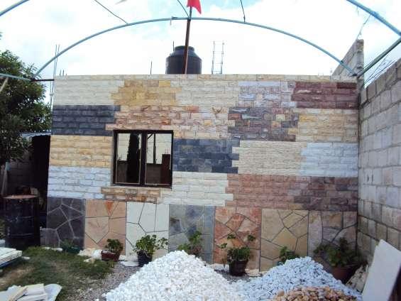 Listón en piedra laja arqueológica o piel de elefante