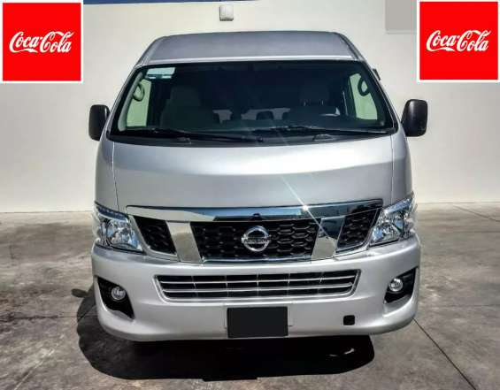 Nissan urvan nv350 pasajeros 2014