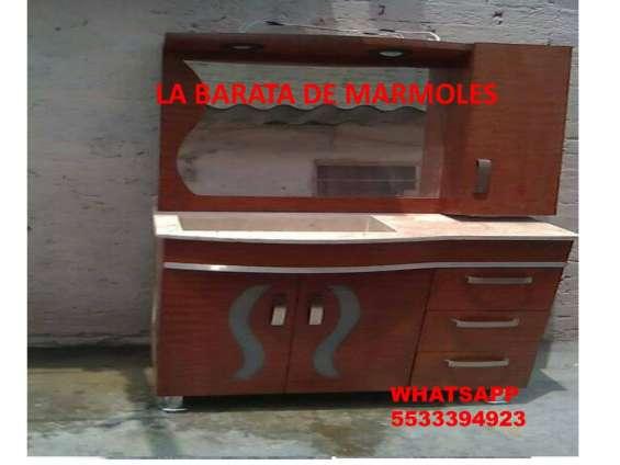 !!! muebles con lavabo en marmol !!!