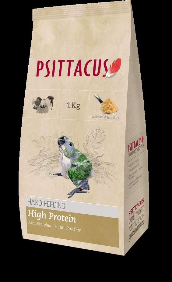 Papilla de alta proteina para loros 1k