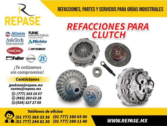 Refacciones para clutch