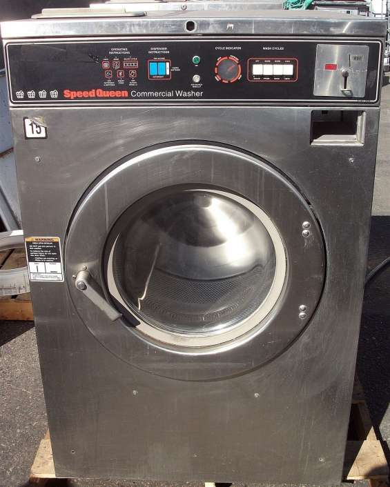 Speed queen lavadora de carga frontal 40lb sc40md2