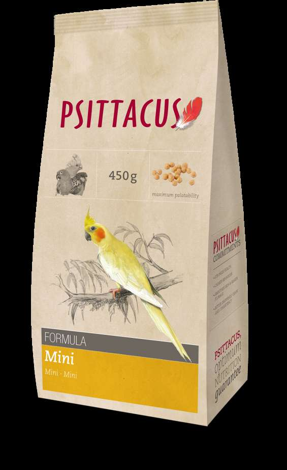 Formula mini para aves de tamaño pequeño 450g