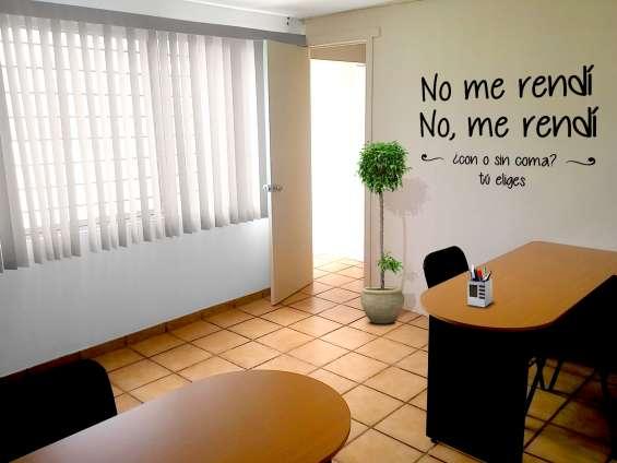 Renta de oficinas con servicio integral