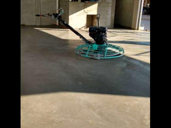 Allanadora de concreto ideal para acabado de pisos