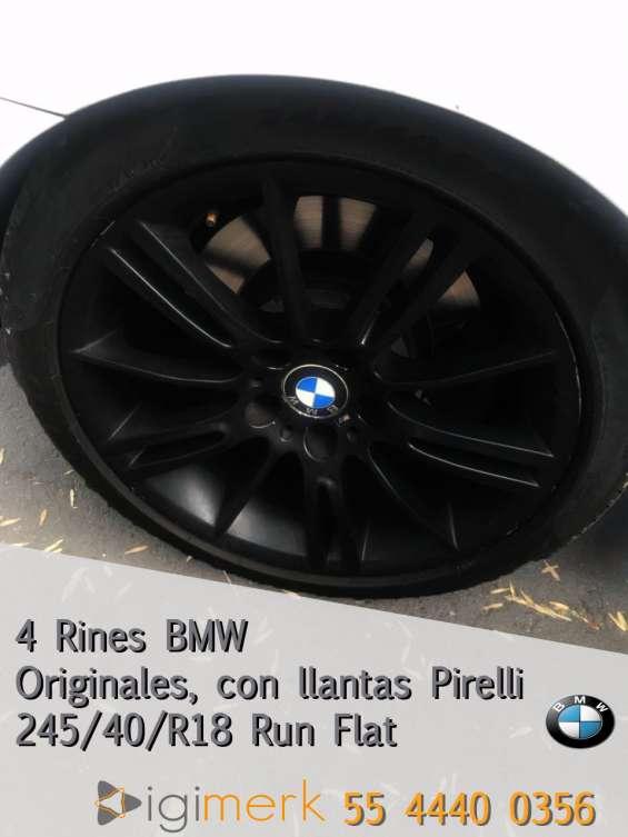 Llantas y rines pirelli bmw/245/40/r18 runflat
