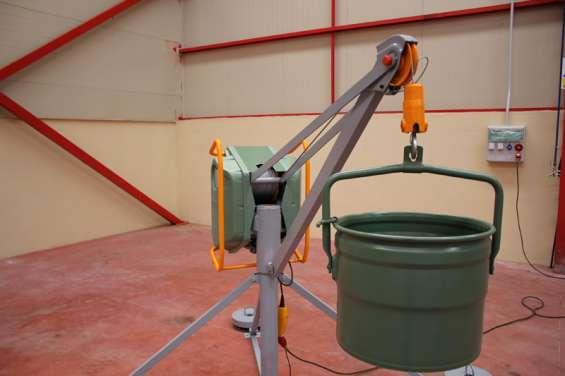 Polipasto eléctrico para elevación de materiales