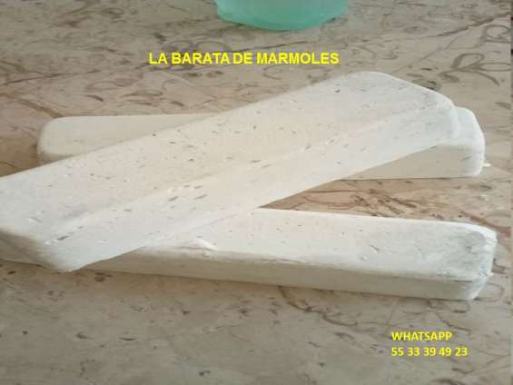Barra blanca de pasta para pulir onix, terrazo y mármol