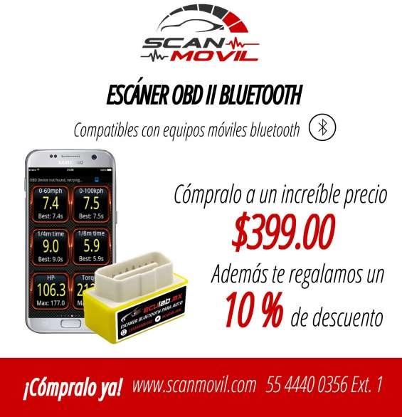 Escaner obd2 para automóviles