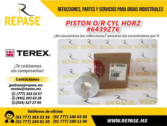 Piston terex o/r cyl horz #6439z76