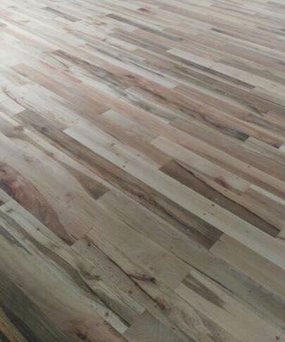 Piso madera solida duela encino nacional selecto