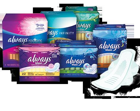 Empacadores de toallas femeninas