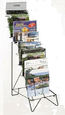 Exhibidores de revistas y periódicos