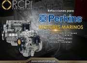 Refacciones para motores marinos marca Perkins