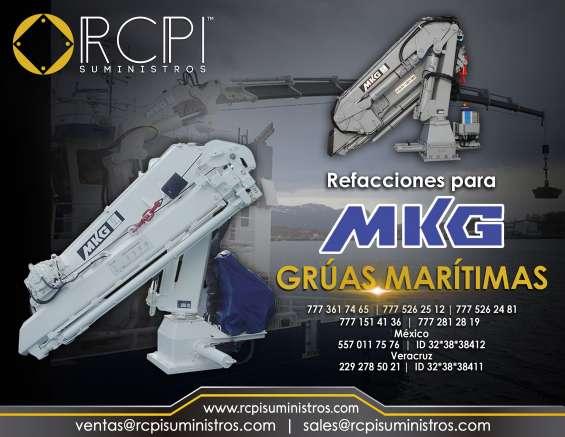 Venta de refacciones para grúas marítimas mkg