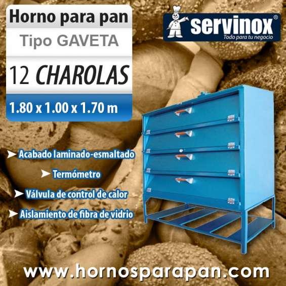 Horno para pan hg12180 12 charolas