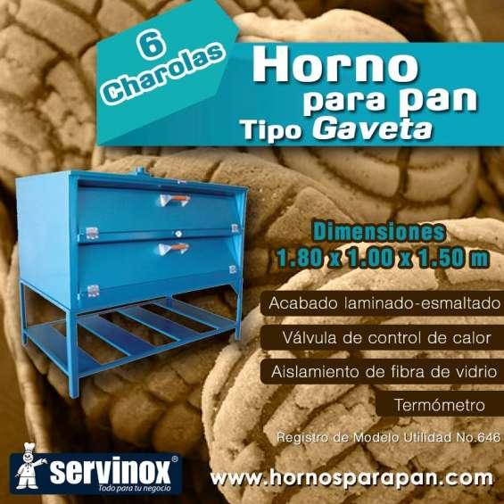 Horno para pan de 6 charolas mod. hg6180