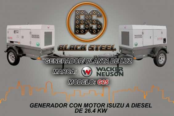 Generador g180 wacker neuson