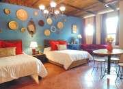 Suites amuebladas con todos los servicios básicos en renta por noche