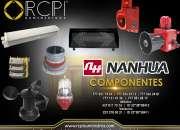 Refacciones y componentes Nanhua para grúas industriales
