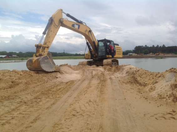 Excavadora caterpillar 336fl 2017