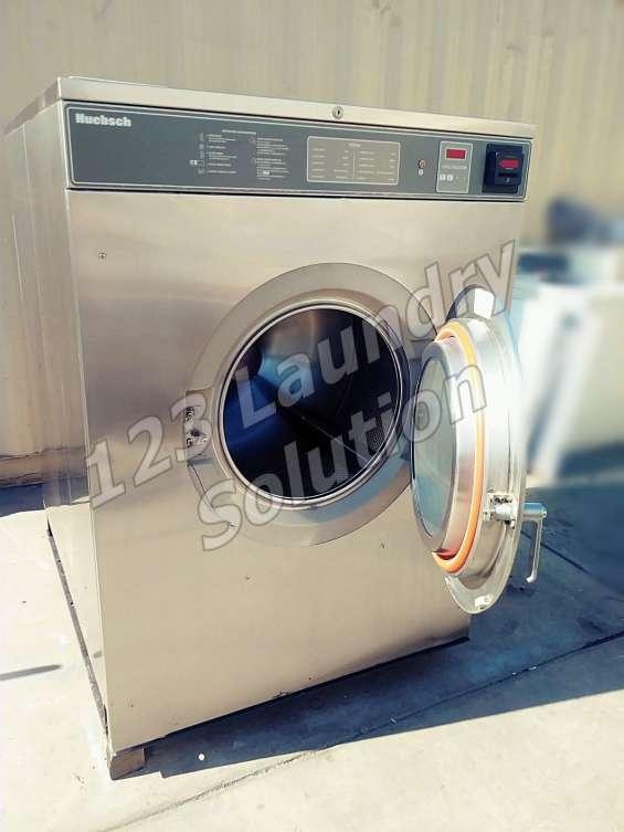 Huebsch lavadora de carga frontal 80lbs 200-240v hc80vxvqu60001 usada