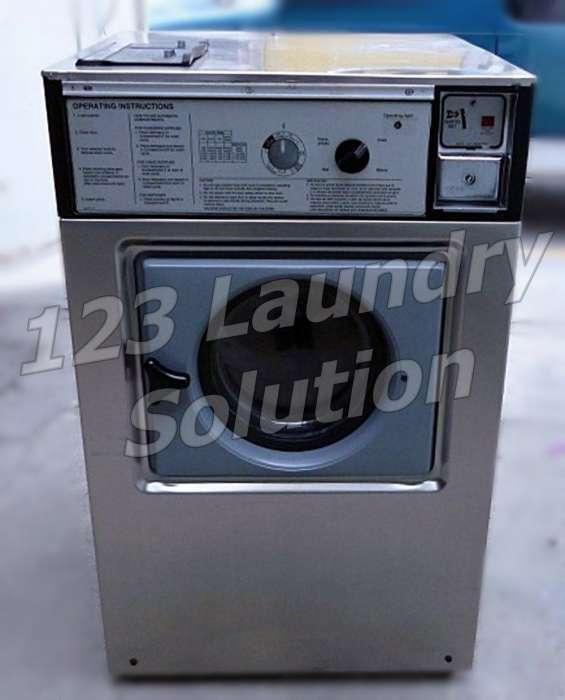Wascomat lavadora de carga frontal doble carga w105 usada