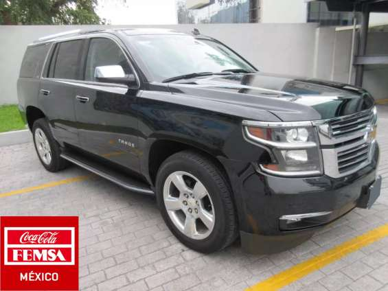 Chevrolet tahoe ltz año 2015
