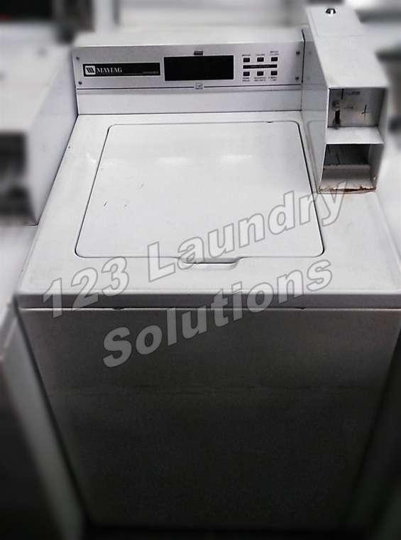 Maytag lavadora de carga superior mat12pdlaw 120v 60hz 7amp usada
