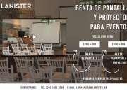 SALAS DE JUNTAS DE RENTA EQUIPADAS LANISTER
