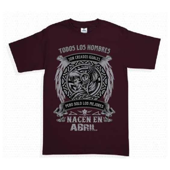 Camisetas soy leyenda o todos los hombres nacen...
