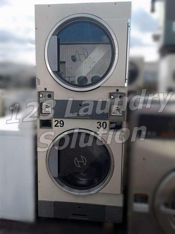 Huebsch stack secadora electro-mechanical jt0300