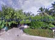 V-418 villas alondras ixtapa, villa estilo mexicano de dos recamaras frente a green