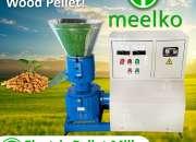 Máquina meelko de hacer pellets de maderas, biomasas 200mm - mkfd200c