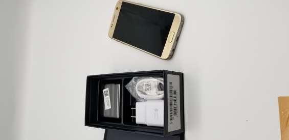 Samsung galaxy s7 gold ; 32gb. sin rayones + regalo