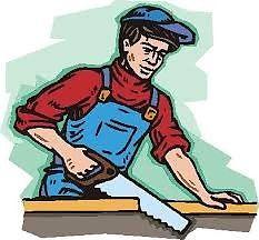 Se hacen trabajos de carpintería y barniz