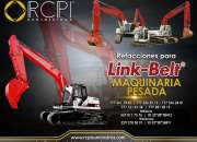Repuestos para maquinaria pesada marca LinkBelt