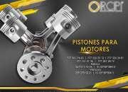 Venta de pistones para motores diesel