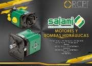 Motores y bombas hidráulicas salami para grúas industriales