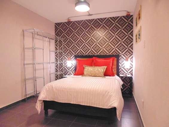 Renta cómoda suite para estancias semanales