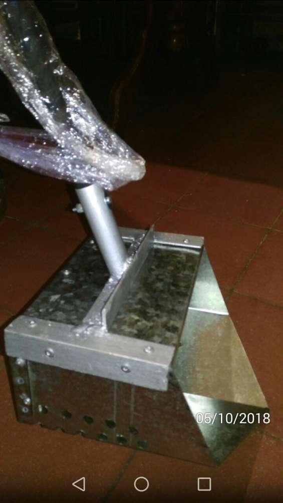 Sand scoop pala para arena cucharón para detector de acero galvanizado con mango largo