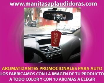 Tarjetas aromatizantes personalizadas para auto