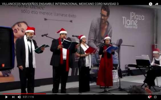 Villancicos navideños en ciudad de méxico